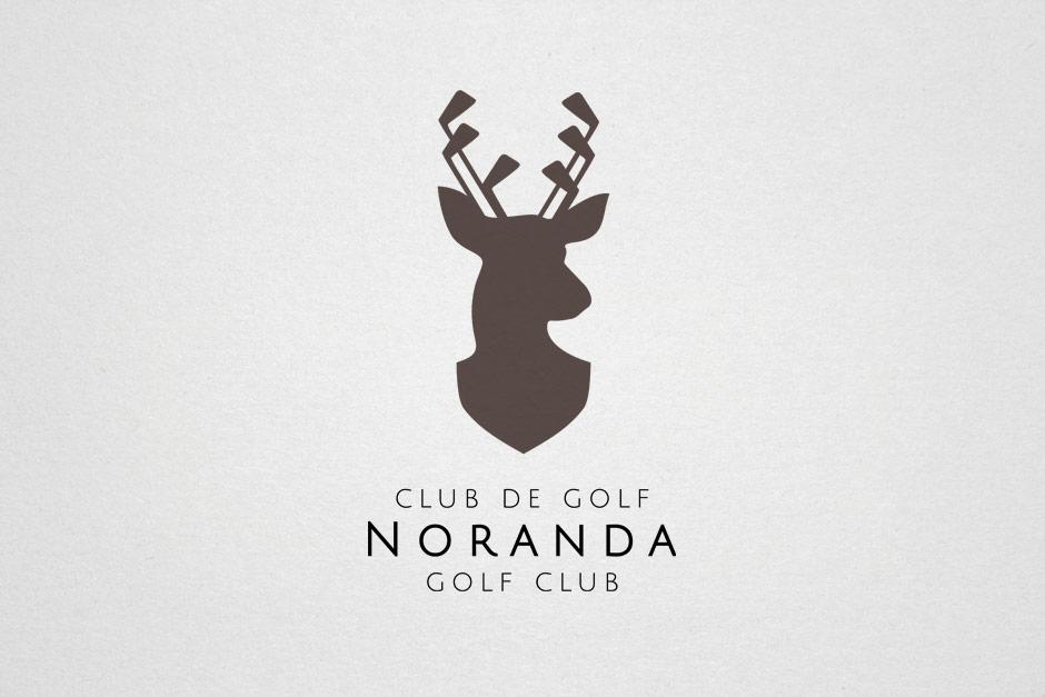 Club de Golf Noranda - Logo