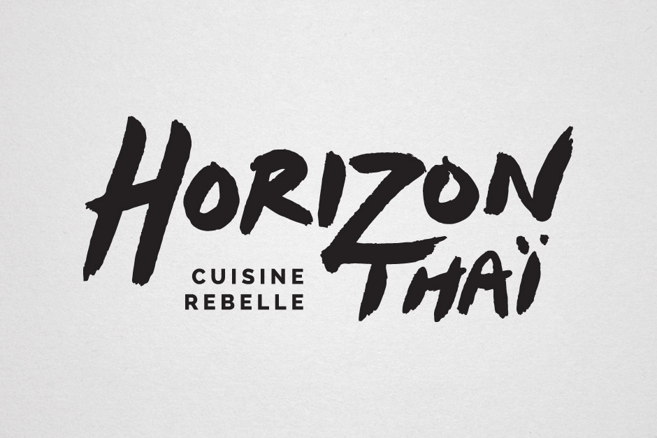 Horizon thai - Cuisine rebelle - Logo