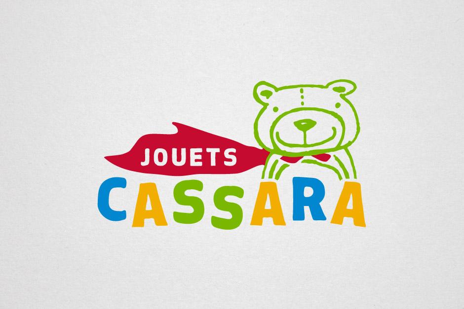 Jouets Cassara - Logotype