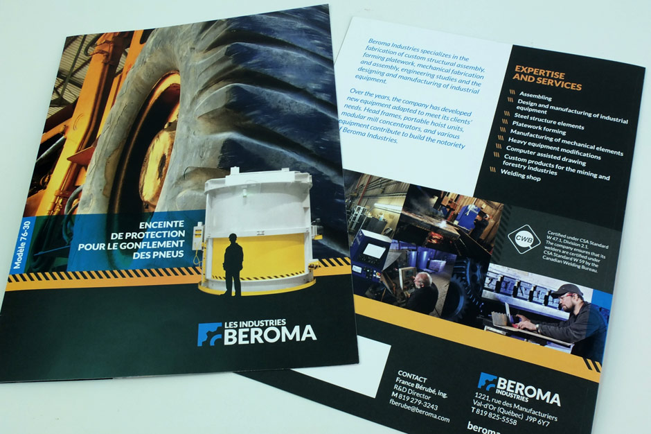 Les Industries Beroma - Brochure - Couverture