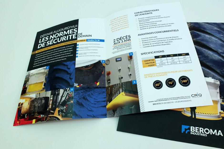 Les Industries Beroma - Brochure - Intérieur