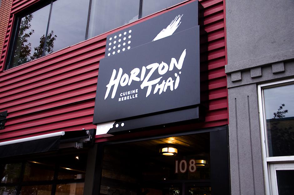 Enseigne Horizon Thai