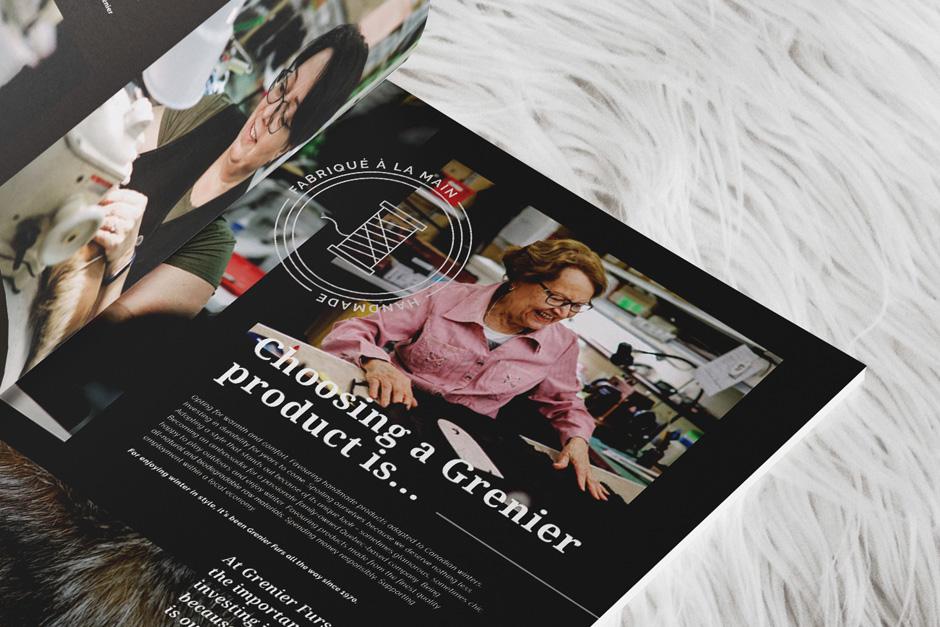 Fourrures Grenier - Catalogue 2019-2020 - Intérieur