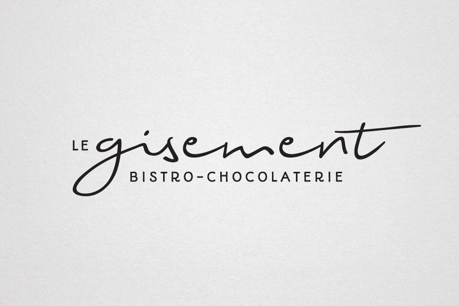 Chocolaterie Le Gisement - Logotype
