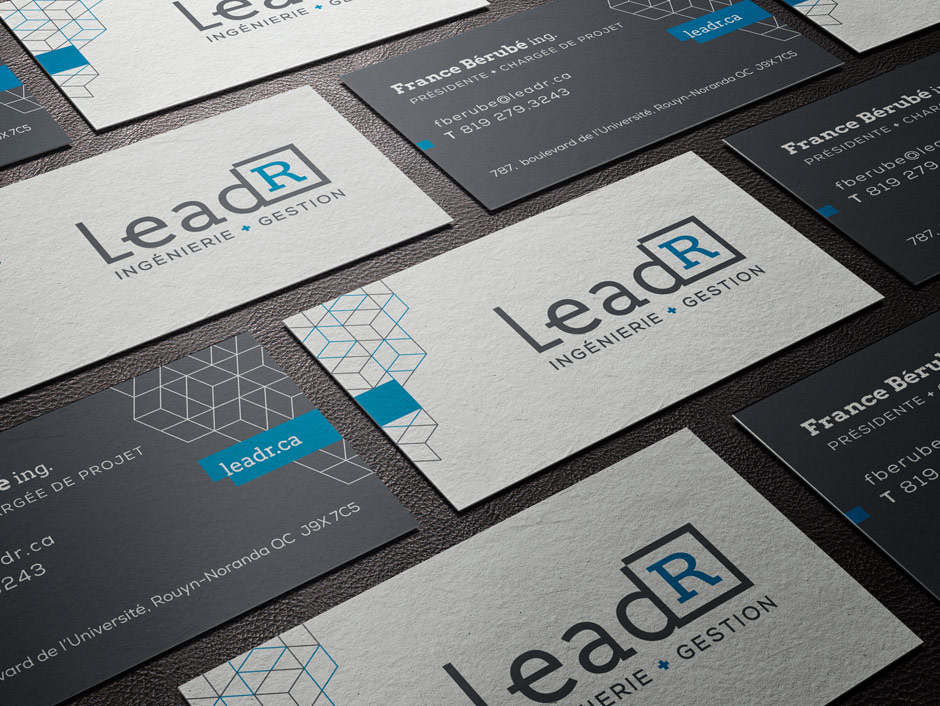 LeadR - Carte d'affaires