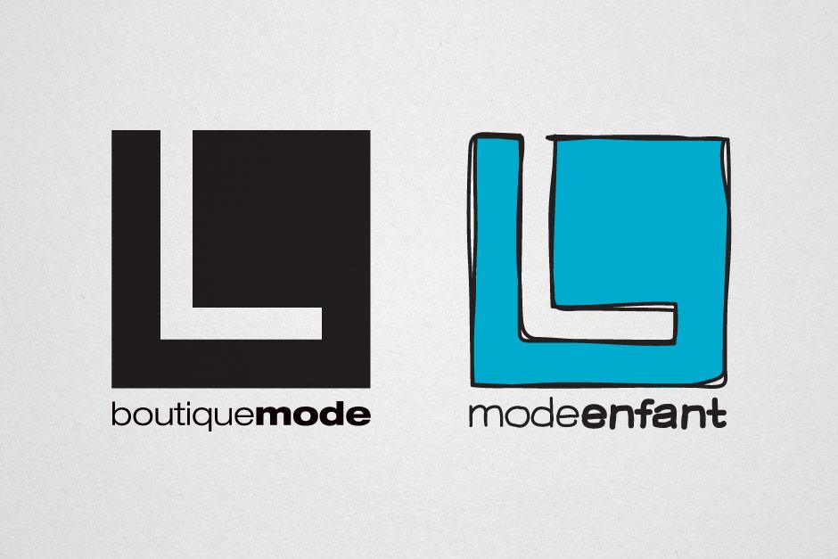 L Boutique Mode et L Mode Enfant - Logos