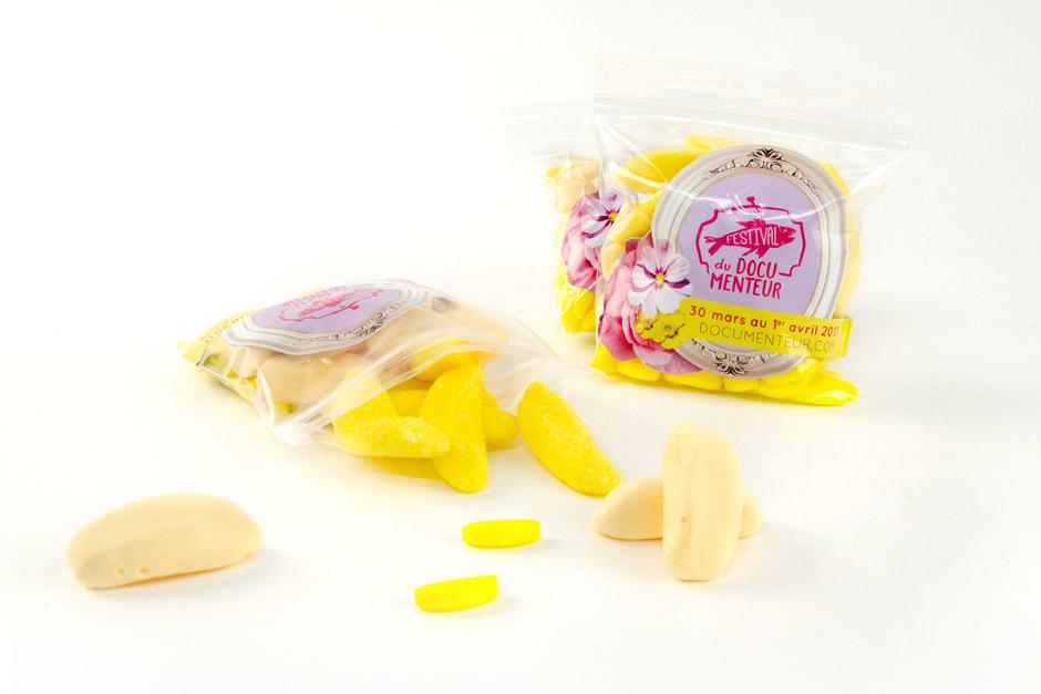Emballage de bonbons promo du DocuMenteur