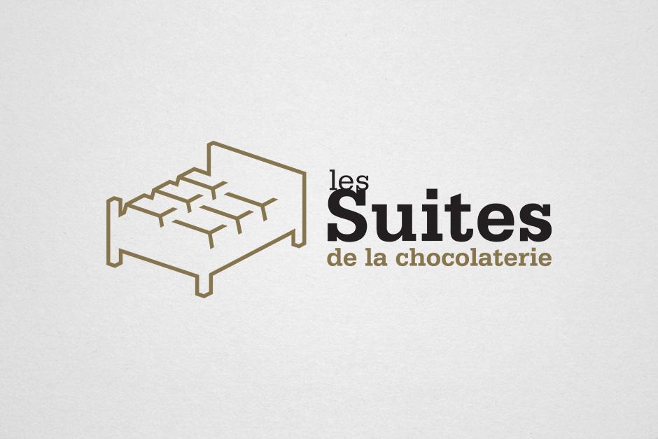 Les Suites de la chocolaterie - Chocolats Martine - Logo