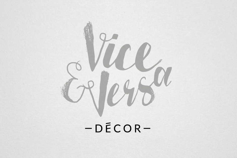 Vice & Versa - Décor - Logotype