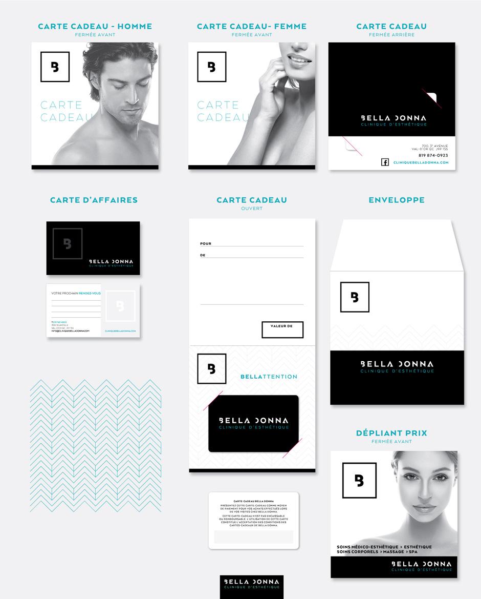 Bella Donna - Clinique esthétique- Image de marque
