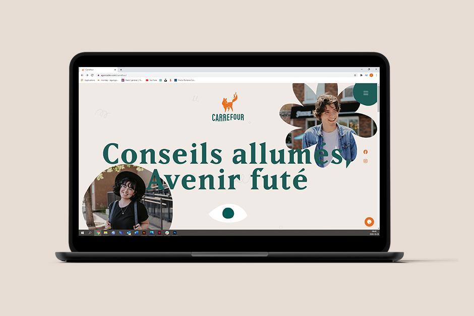 Site web du Carrefour de Rouyn-Noranda