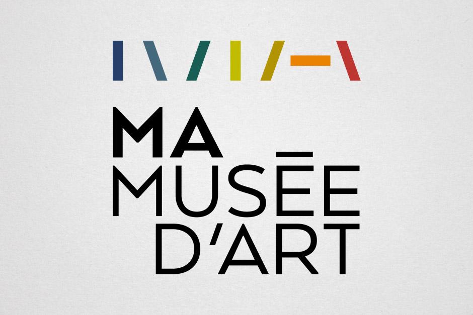 MA - Musée d'art - Logotype